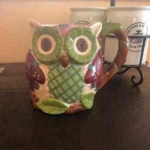 Ceramic Owl Mug
